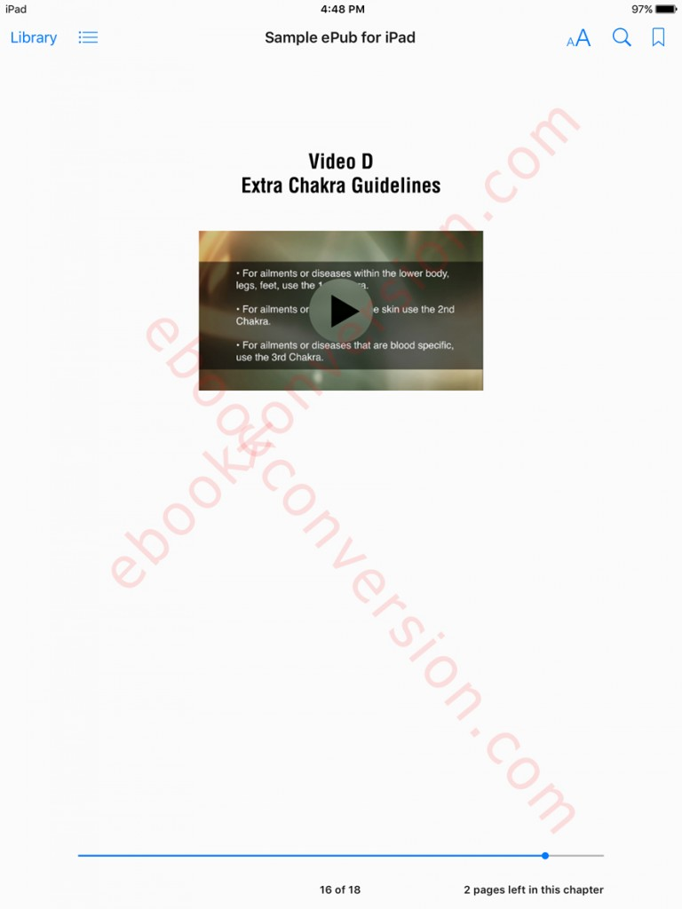 ipad epub ebook