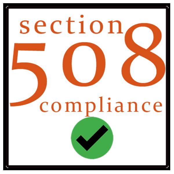 Section 508 Compliant Conversion